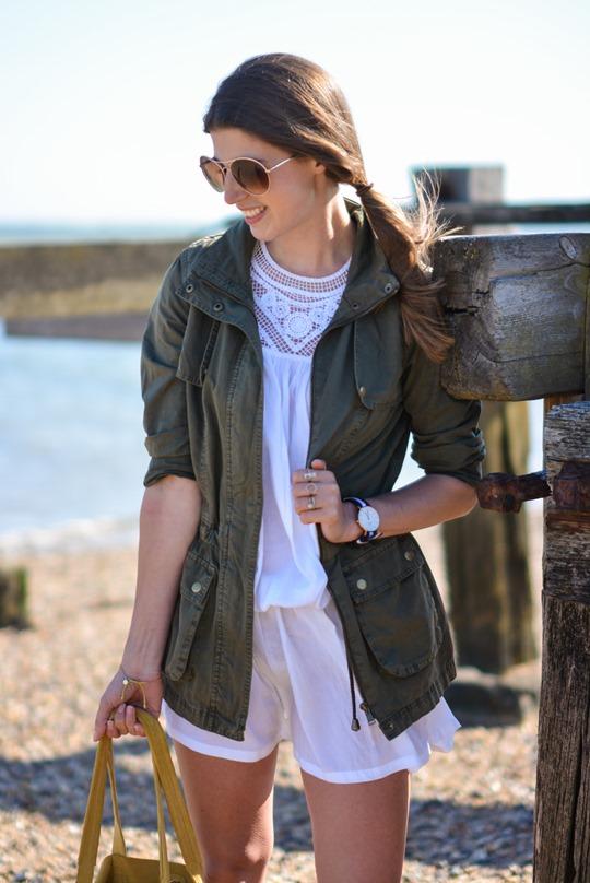 Thankfifi- Corchet lace dress & leather lace up gladiators on #NextBloggerIsland-3