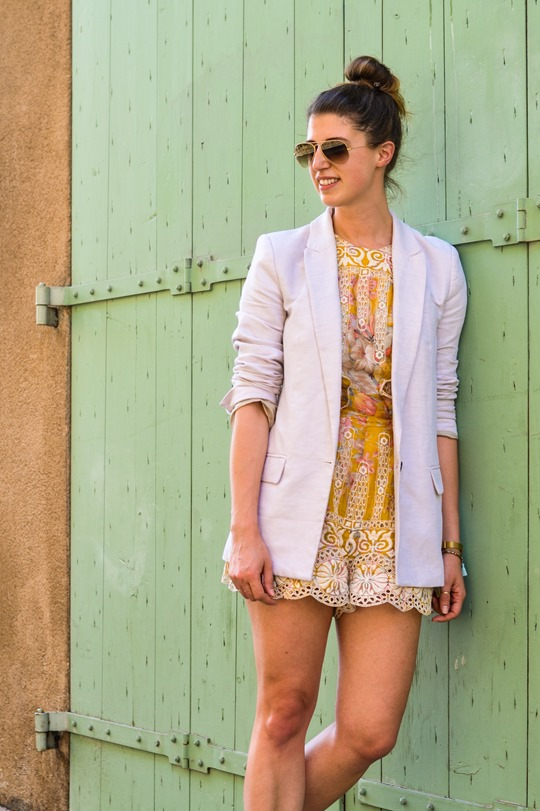 Thankfifi- Zimmermann scallop lace playsuit in Aix en Provence-12