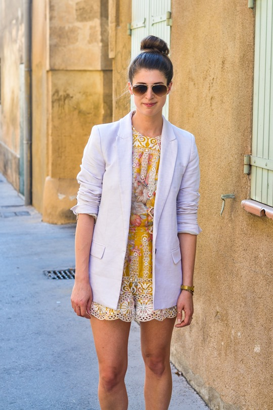 Thankfifi - Zimmermann scallop lace playsuit in Aix en Provence
