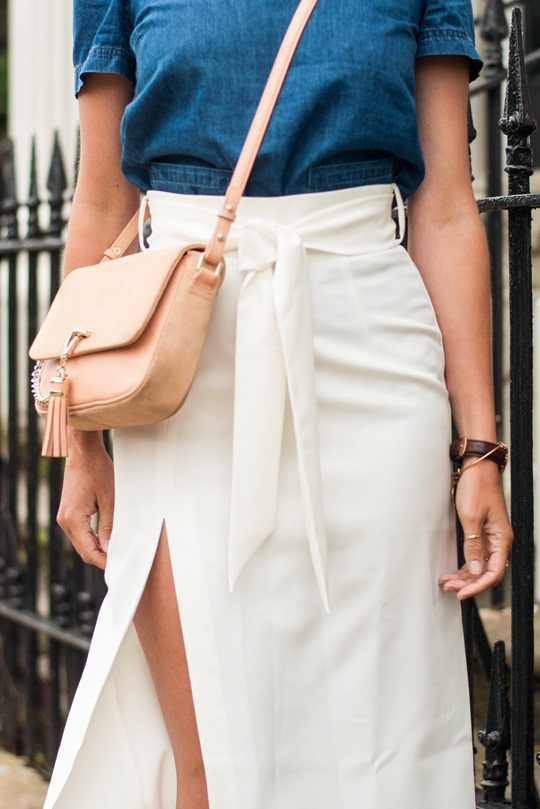 Thankfifi- Asos front split skirt - Glasgow fashion blog-7