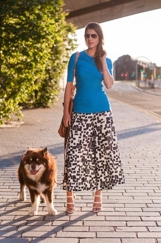 Thankfifi- Maxmara Carrara culottes & Chelsea Paris Blade sandals-2
