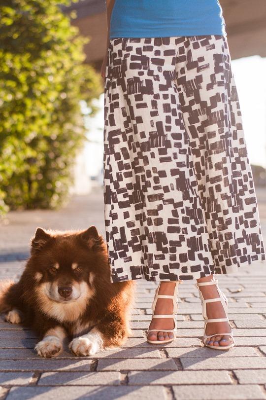 Thankfifi- Maxmara Carrara culottes & Chelsea Paris Blade sandals-7