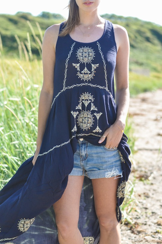 Thankfifi- Monsoon embroidered beach dress-5