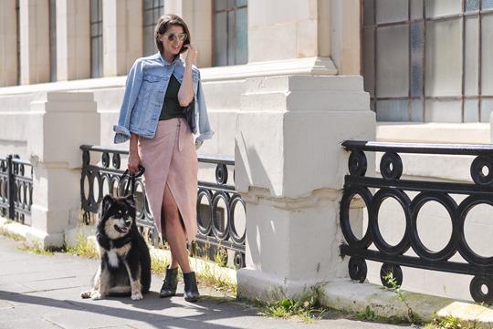 Thankfifi- New ways to wear a denim jacket - cape style-6