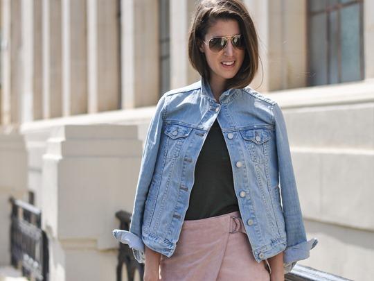 Thankfifi- New ways to wear a denim jacket - cape style-9
