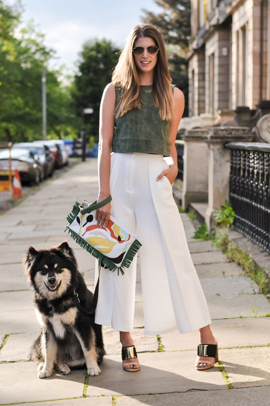 Thankfifi- The Outnet Iris And Ink Ingrid cream culottes - fashion blogger streetstyle-3