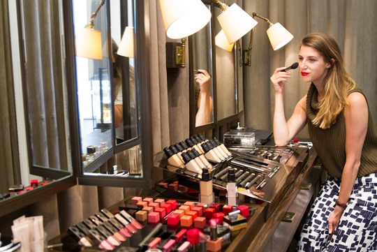 Thankfifi - Burberry makeup, Regent Street-6