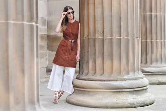 Thankfifi- Iris & Ink suede dress & Chelsea Paris Blade sandals-16