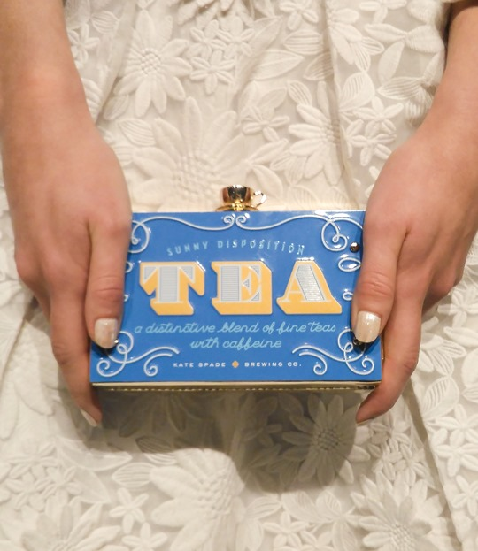 Thankfifi- Kate Spade SS16 Presentation New York Fashion Week Tea Box Clutch