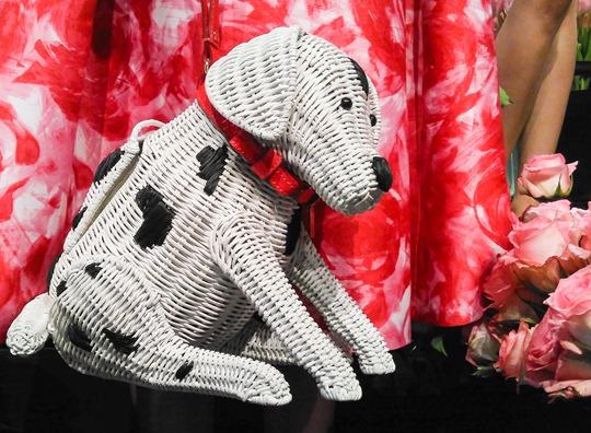 Thankfifi- Kate Spade SS16 Presentation New York Fashion Week - dog basket bag