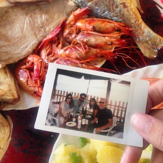 Thankfifi- Fish Shack open air restaurant, Ibiza town