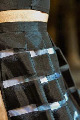 Thankfifi- David's Bridal, Glasgow - prom stripe 2 piece dress-9