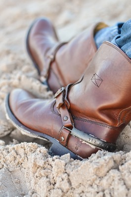 Thankfifi- Frye Lindsay ankle riding boots