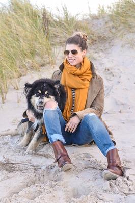 Thankfifi- Mango suede trench, MIH Jeans breton top & Furla yellow mini bag-10