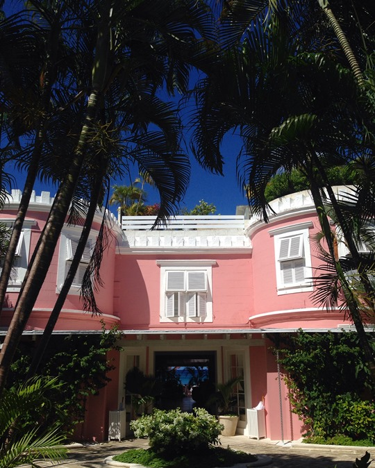Thankfifi - Cobblers Cove Hotel, Barbados - pink house