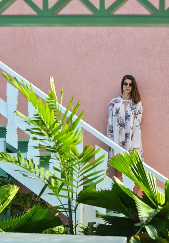 Thankfifi - Free People Electric Orchid Swing Tunic - Cobblers Cove Barbados-5