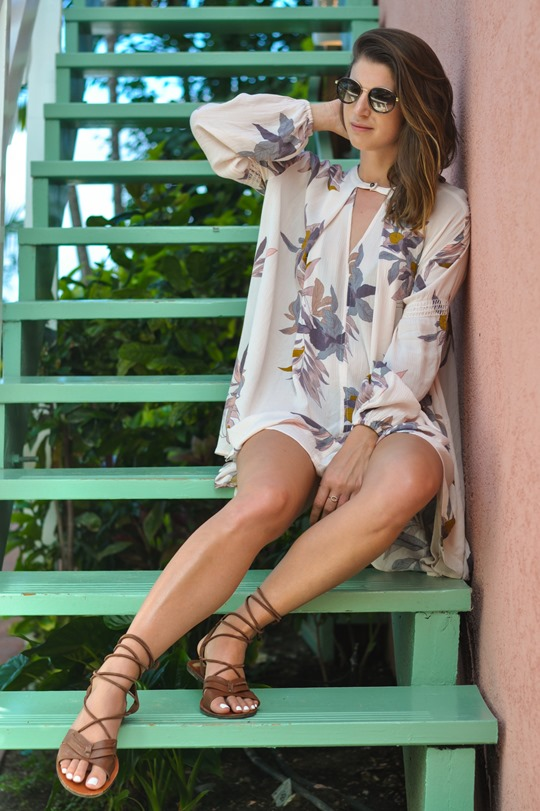 Thankfifi - Free People Electric Orchid Swing Tunic - Cobblers Cove Barbados-6