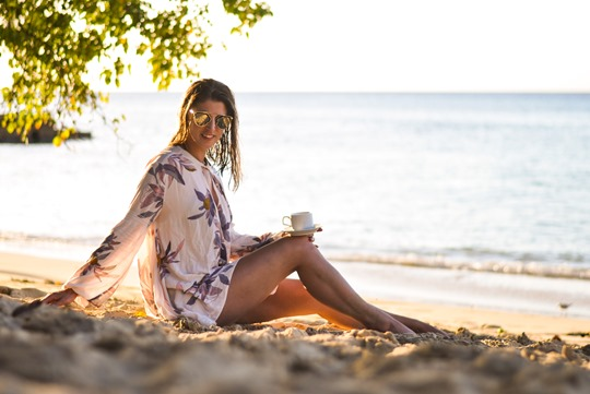 Thankfifi - Free People Electric Orchid Swing Tunic - Cobblers Cove Barbados