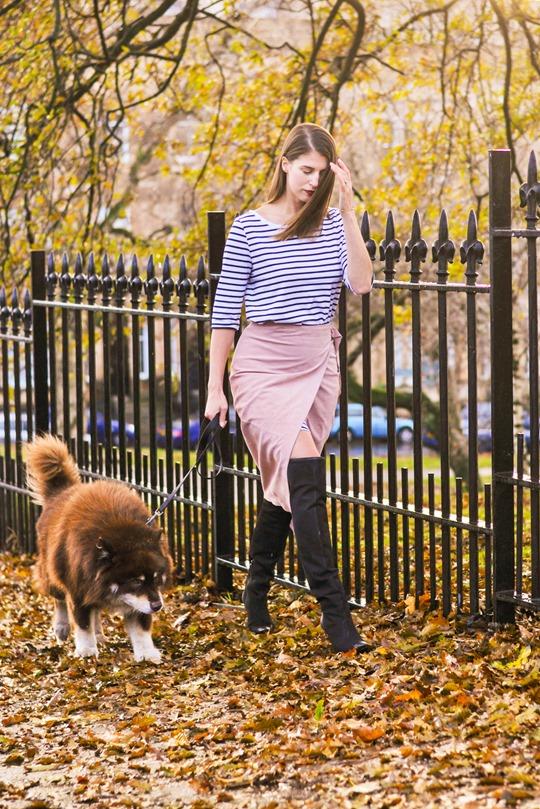 Thankfifi- Winter layers - skirt over dress-3