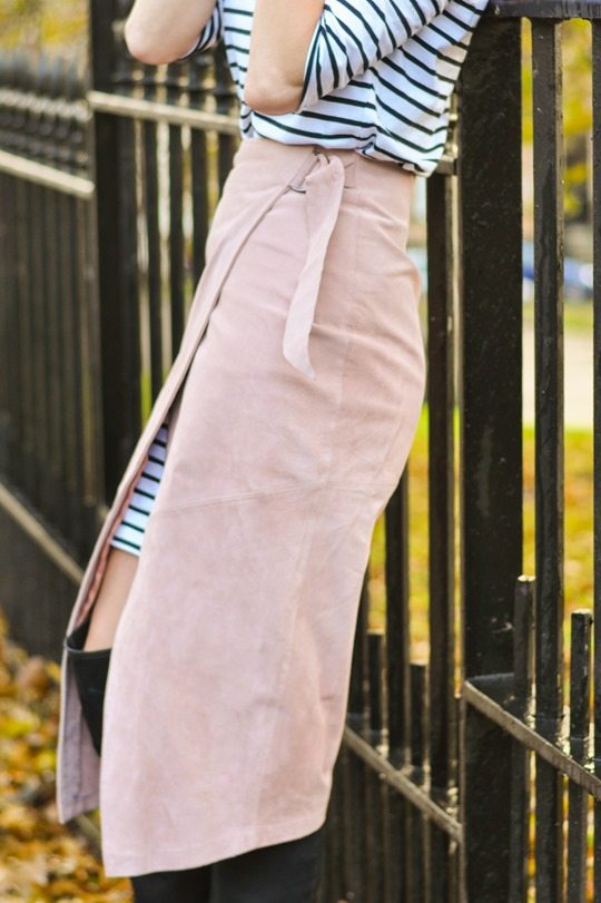 Thankfifi- Winter layers - skirt over dress-8