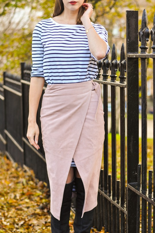 Thankfifi- Winter layers - skirt over dress-9