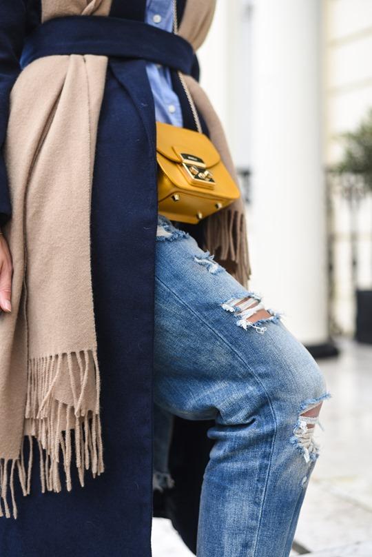 American Eagle ripped boyfriend jeans - winter layers by Thankfifi, a Scottish fashion blog-11
