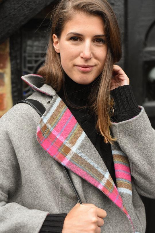 Thankfifi- Boden Zoe coat, Reiss Sahara bag & cable knit-7