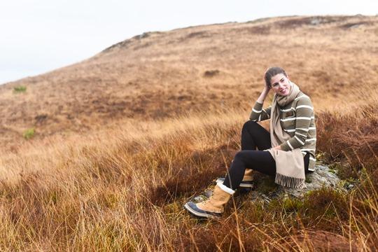Hiking Scotland in Sorel Caribou boots - Thankfifi-10