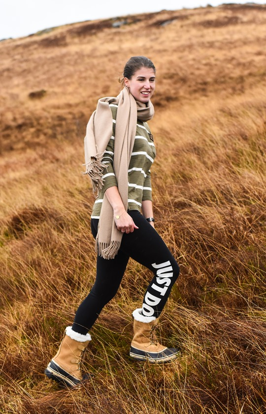 Hiking Scotland in Sorel Caribou boots - Thankfifi-2