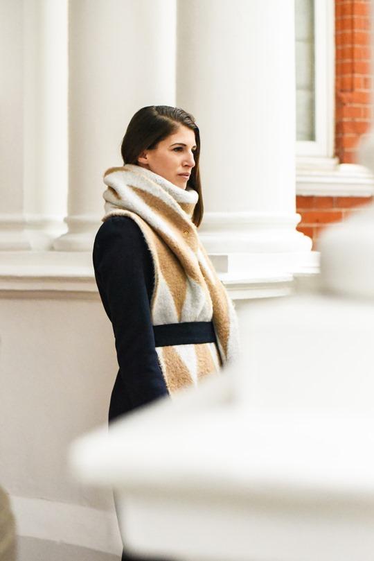 Oversized Asos chevron blanket scarf - Thankfifi-7