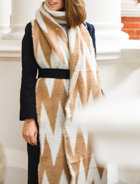 Oversized Asos chevron blanket scarf - Thankfifi-8
