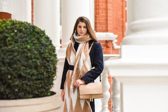 Oversized Asos chevron blanket scarf - Thankfifi-9