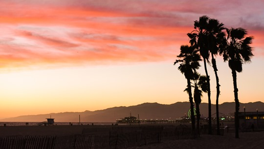 Santa Monica Beach Sunset - Thankfifi LA Travel Diary-10