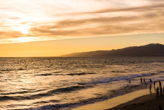 Santa Monica Beach Sunset - Thankfifi LA Travel Diary-3