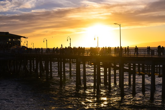 Santa Monica Beach Sunset - Thankfifi LA Travel Diary-4