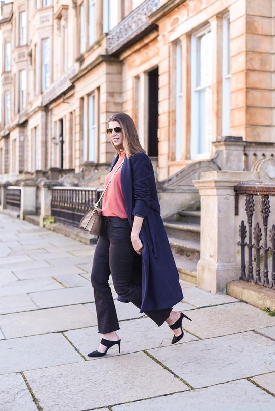 Zara crop fringe flare jeans - Thankfifi street style-6