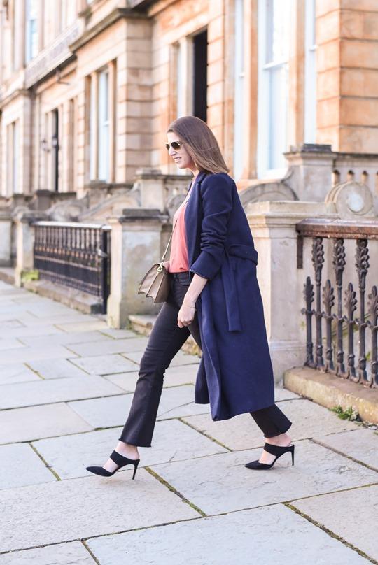Zara crop fringe flare jeans - Thankfifi street style-8