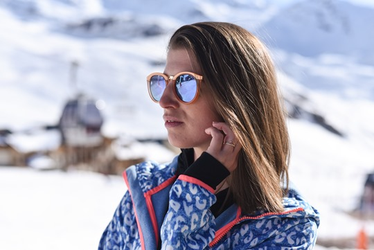 Chiemsee leopard soft shell & Le Specs no smirking sunglasses - Thankfifi in Val Thorens-3