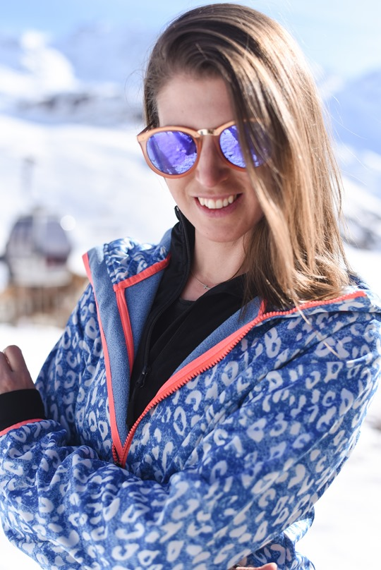 Chiemsee leopard soft shell & Le Specs no smirking sunglasses - Thankfifi in Val Thorens-4
