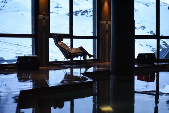 Le Hameau du Kashmir, luxury pool and spa, Val Thorens - Thankfifi-4