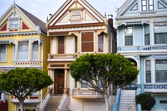 Pastel Houses, The Painted Ladies - Thankfifi San Francisco Travel Diary-3