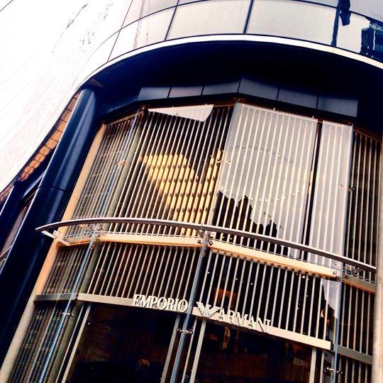 Emporio Armani SS16, Glasgow shop opening Ingram Street - Thankfifi-3