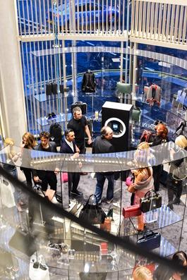 Emporio Armani SS16, Glasgow shop opening Ingram Street - Thankfifi-9