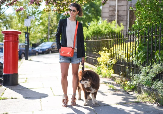 Neon red - Henri Bendel Sullivan bag - Thankfifi, Scottish fashion blog-2
