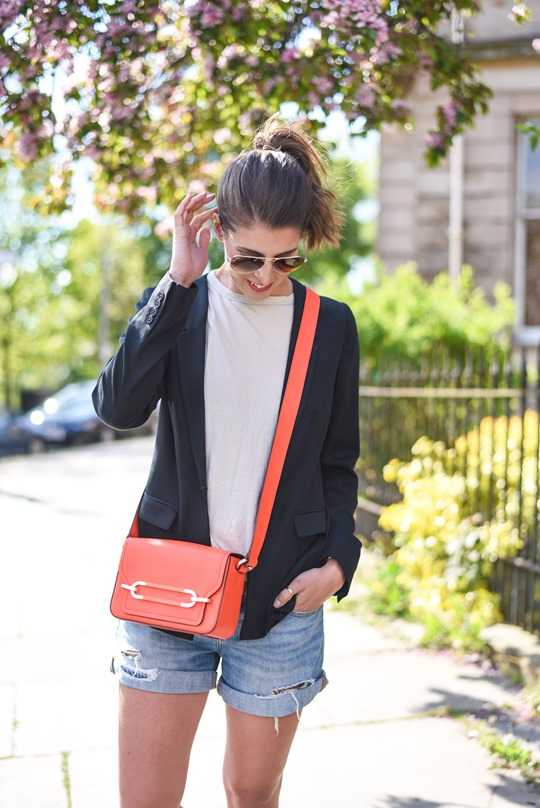 Neon red - Henri Bendel Sullivan bag - Thankfifi, Scottish fashion blog-4