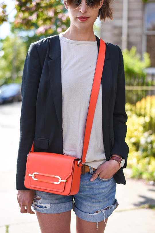 Neon red - Henri Bendel Sullivan bag - Thankfifi, Scottish fashion blog-5