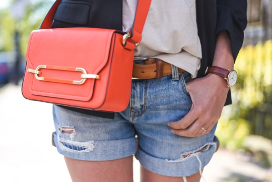 Neon red - Henri Bendel Sullivan bag - Thankfifi, Scottish fashion blog-6