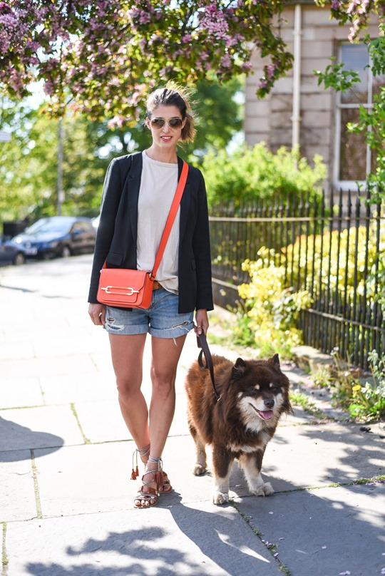 Neon red - Henri Bendel Sullivan bag - Thankfifi, Scottish fashion blog