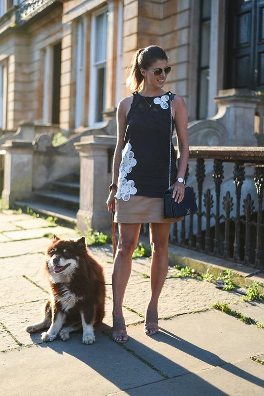 Jigsaw A Line Cormac lace tank top - Thankfifi Scottish fashion blog-1.