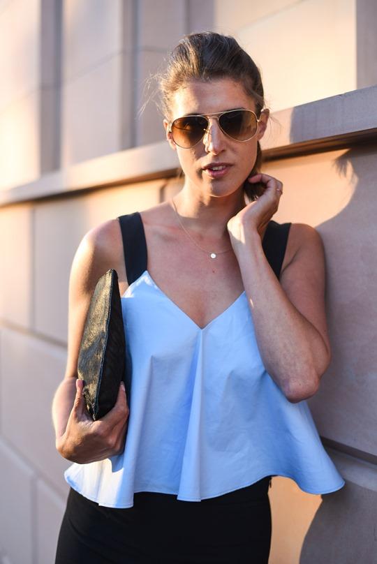 Zara Ellery flare trousers - Thankfifi Glasgow fashion blog-12